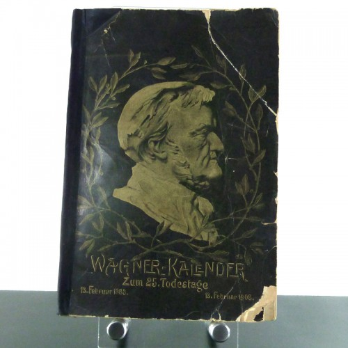 Wagner Kalender zum 25. Todestage