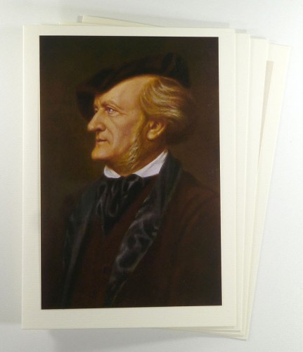 Fotokarten Set Richard Wagner