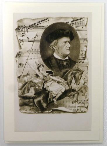 Richard Wagner Fotokarte