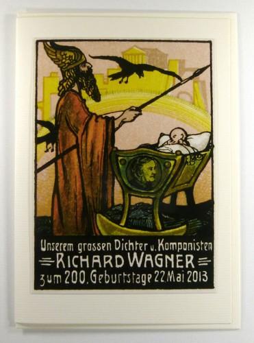 Richard Wagner Geburtstagskarte