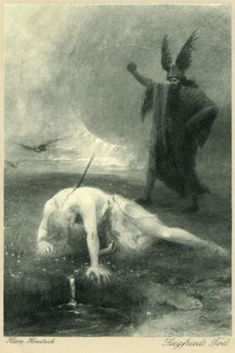 Poster: Siegfrieds Tod
