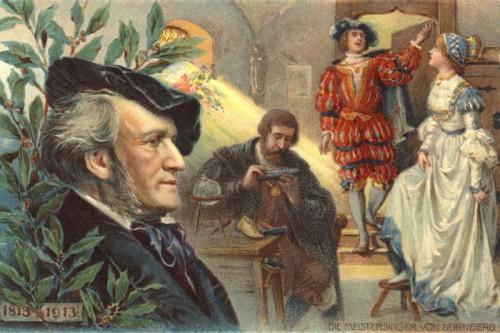 Poster: Die Meistersinger mit Wagner Portrait