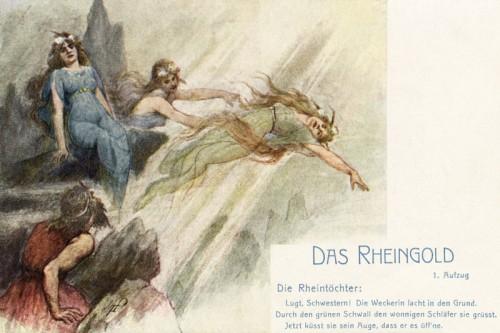 Poster: Die drei Rheintöchter
