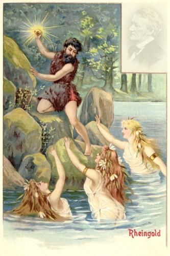 Poster: Alberich und die Rheintöchter