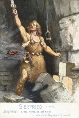 Poster: Siegfried 20 x 30 cm