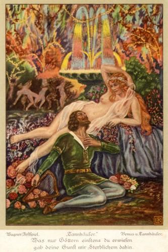 Poster: Tannhäuser und Venus