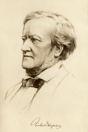 Poster: Richard Wagner 20 x 30 cm