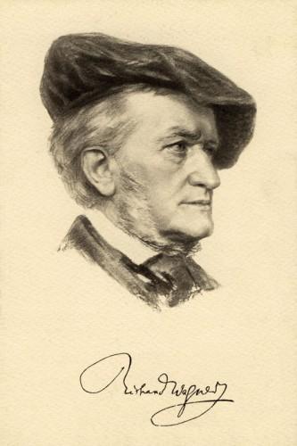 Poster: Richard Wagner 30 x 45 cm