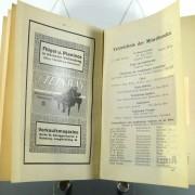 Wegweiser für Besucher der Bayreuther Festspiele 1912