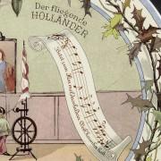 Richard Wagner Wandteller Sarreguemines - Der fliegende Holländer