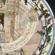 Richard Wagner Wandteller Sarreguemines - Die Meistersinger von Nürnberg