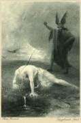 Poster: Siegfrieds Tod 20 x 30 cm