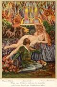 Poster: Tannhäuser und Venus 20 x 30 cm